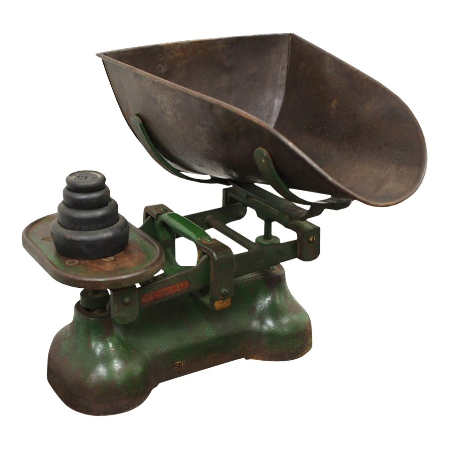 Set of Victorian Grocery Scales
