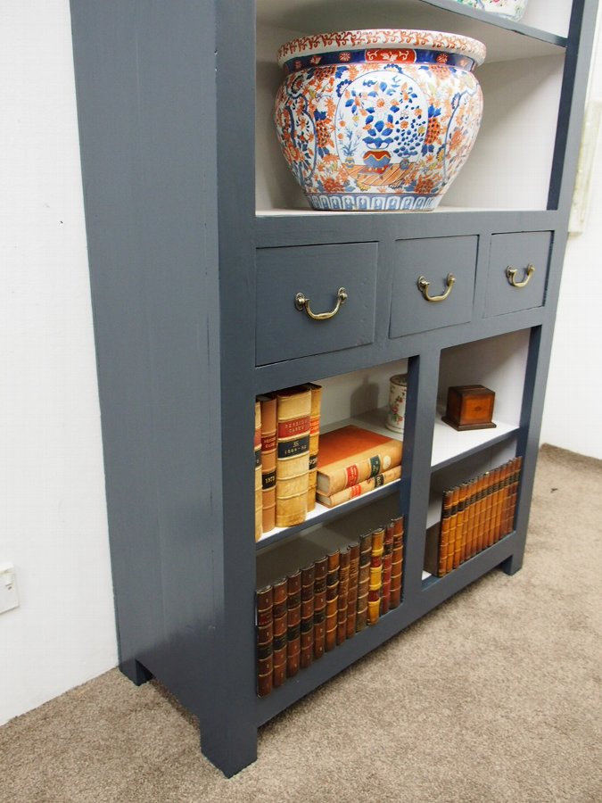 Antique Painted Hardwood Cupboard