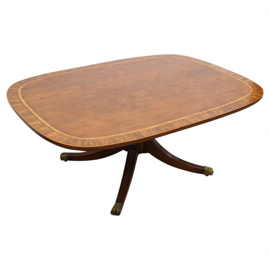 Georgian Style Coffee Table by Arthur Brett of Norwich