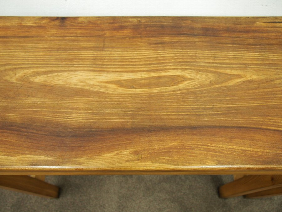 Antique Handmade Native British Wood Occasional Table