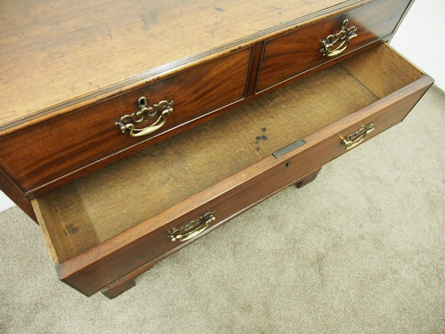 Antique Dumfries House Style Mahogany Chest of Drawers