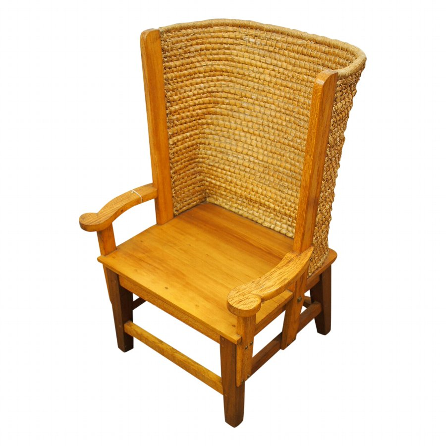 Oak and Beech Orkney Chair