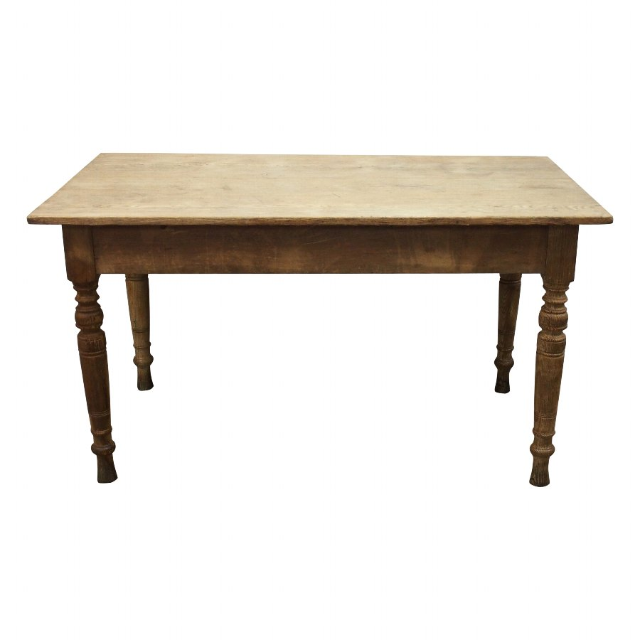 Victorian Ash Kitchen Dining Table