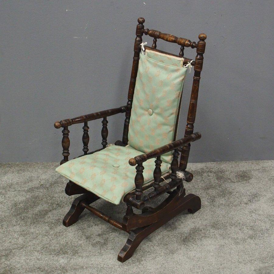 Brilliant American Childs Rocking Chair Machost Co Dining Chair Design Ideas Machostcouk