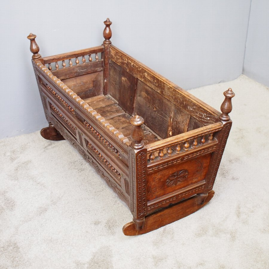 Victorian French Ash Cradle