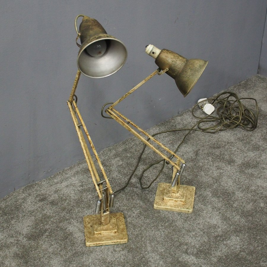 Pair of Adjustable Desk Lamps