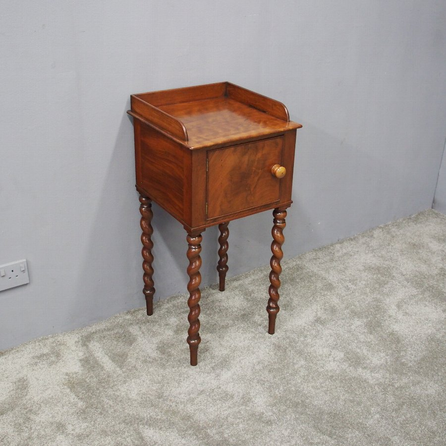 Gillows of Lancaster Style Bedside Cabinet