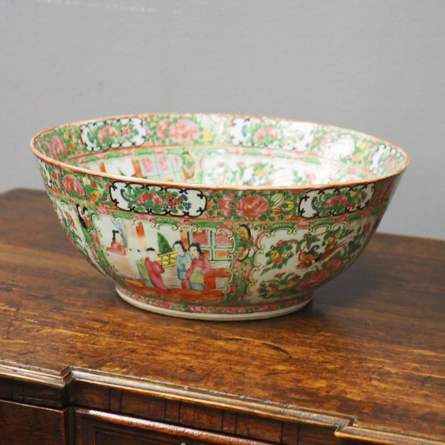 19th Century Canton Bowl