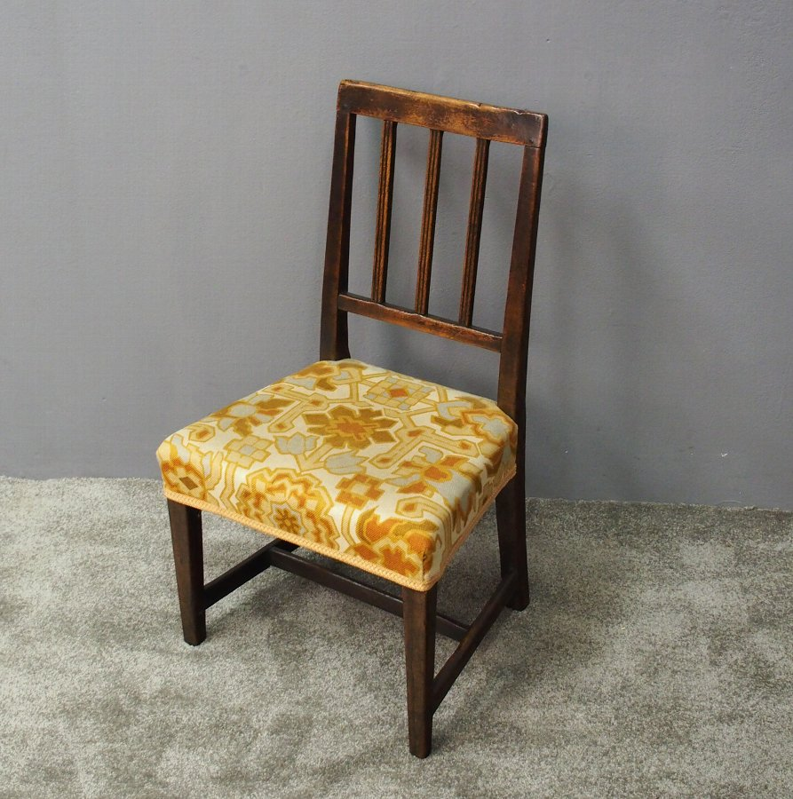 George III Stained Beech Childs Chair