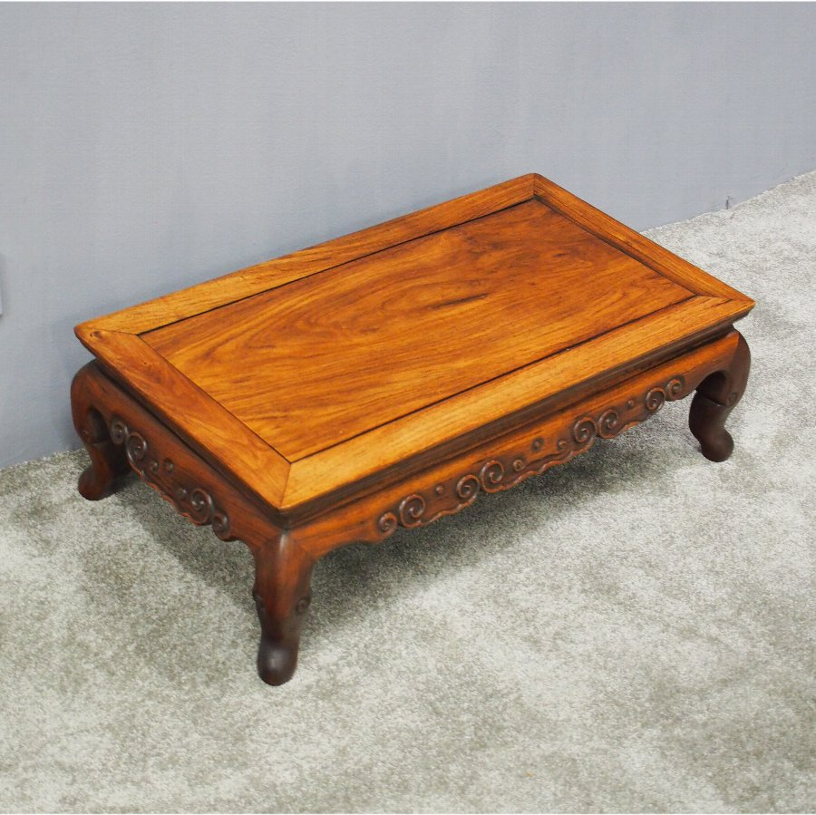 Antique 19th Century Huanghuali Opium Table