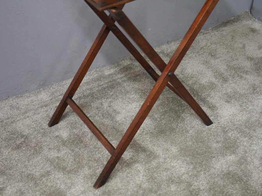 Antique 19th Century Butlers Tray and Stand