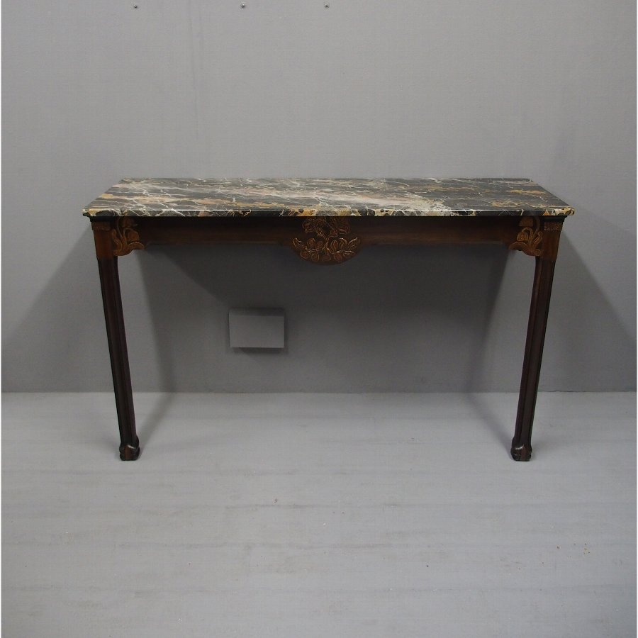 Marble Chinoiserie Console Table by Whytock and Reid