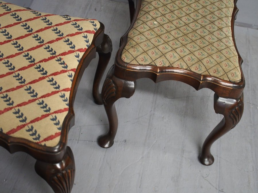 Antique Pair of George II Style Stools