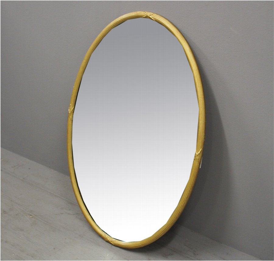 Adams Style Oval Wall Mirror