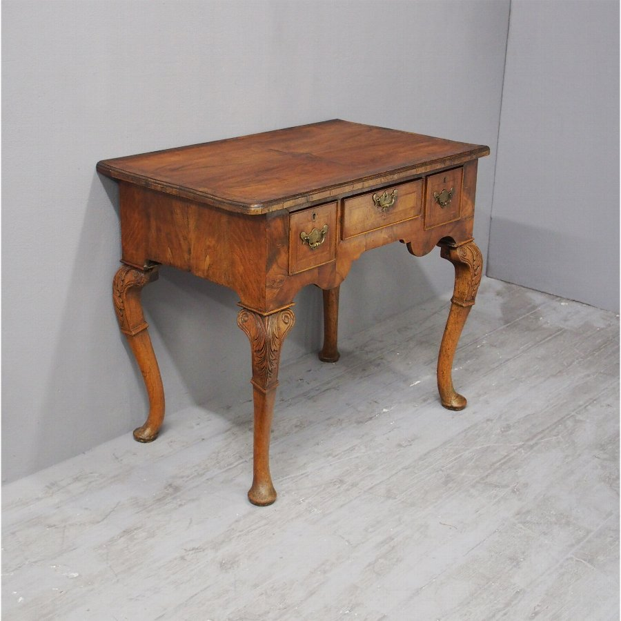 George I Walnut Lowboy