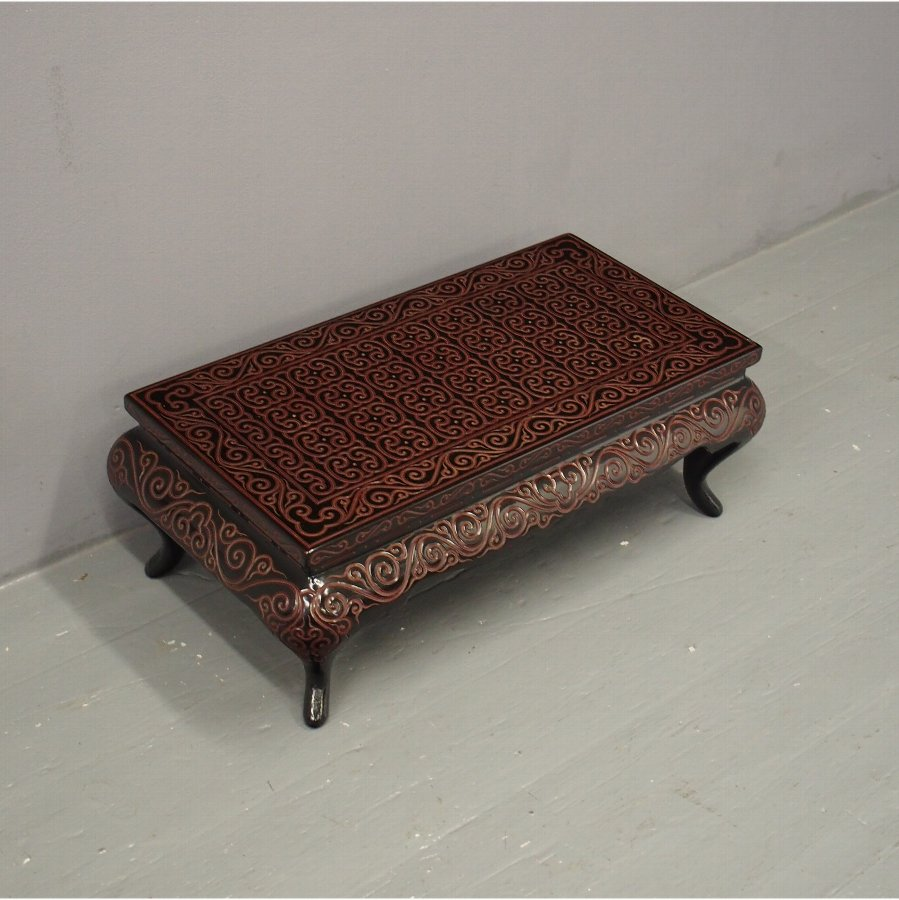 Low Chinese Lacquer Table