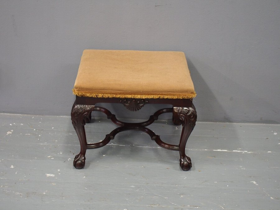 Antique Irish Georgian Stool
