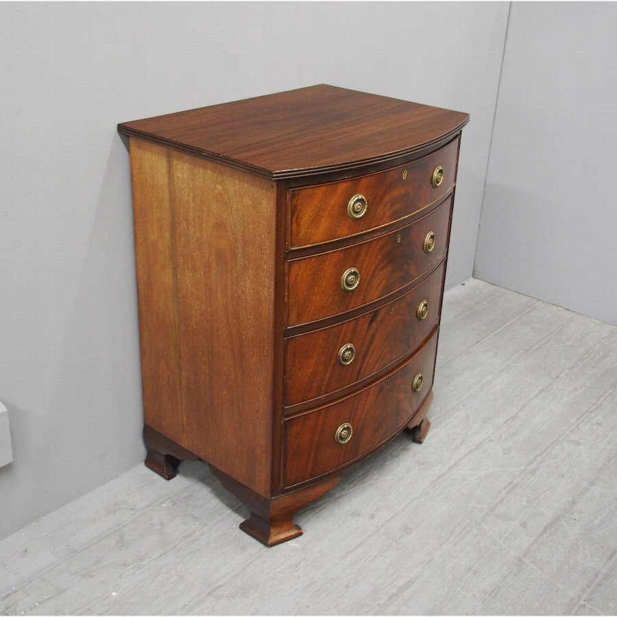 George III Bowfront Chest of Drawers