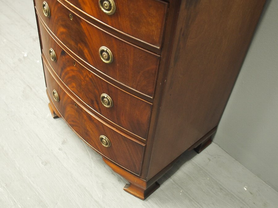Antique George III Bowfront Chest of Drawers