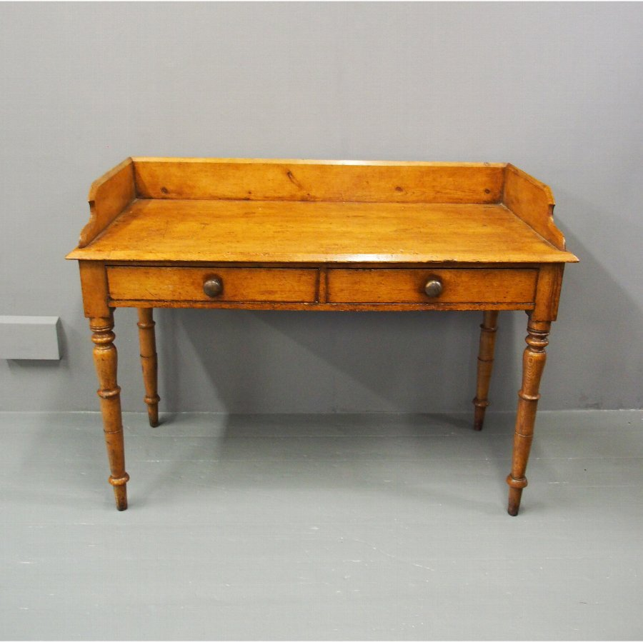George IV Scumbled Pitch Pine Side Table