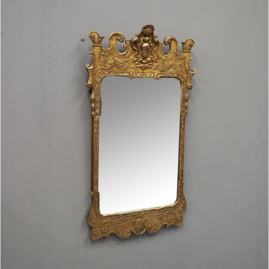Queen Anne Style Wall Mirror
