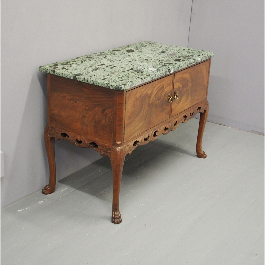 Marble Top Side Table by Whytock and Reid