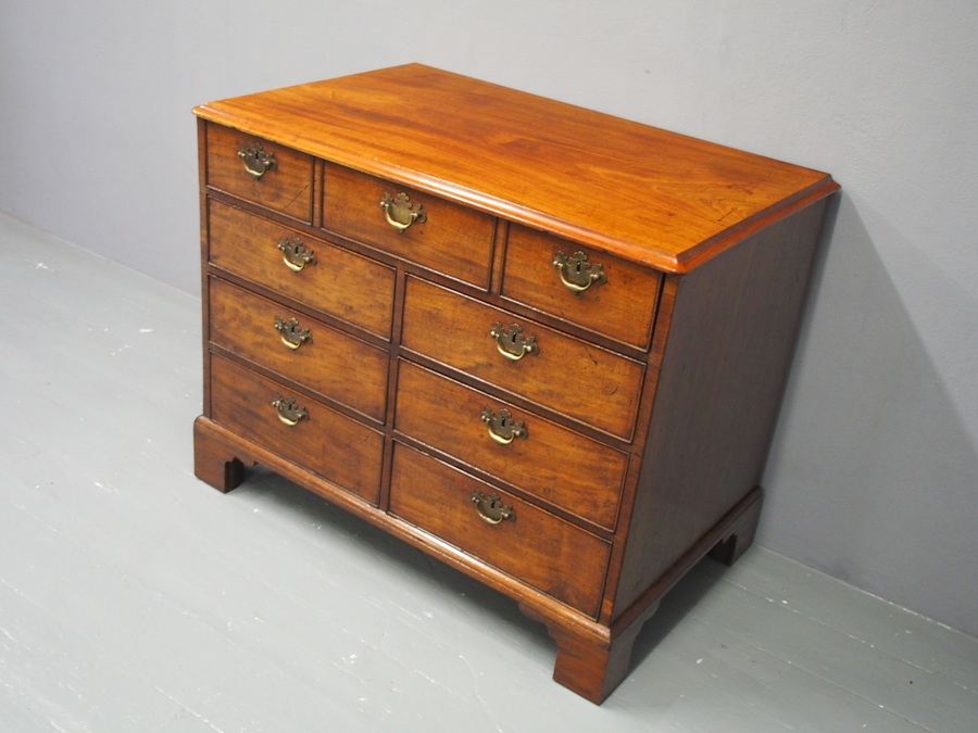 Antique George III Mahogany Dressing Chest