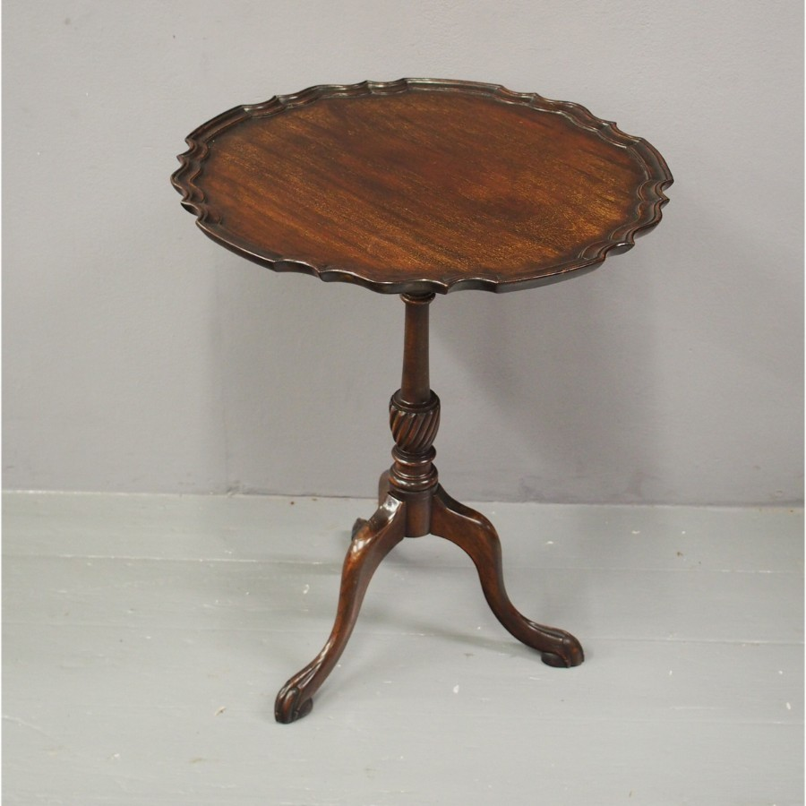 George III Style Mahogany Snap Top Table