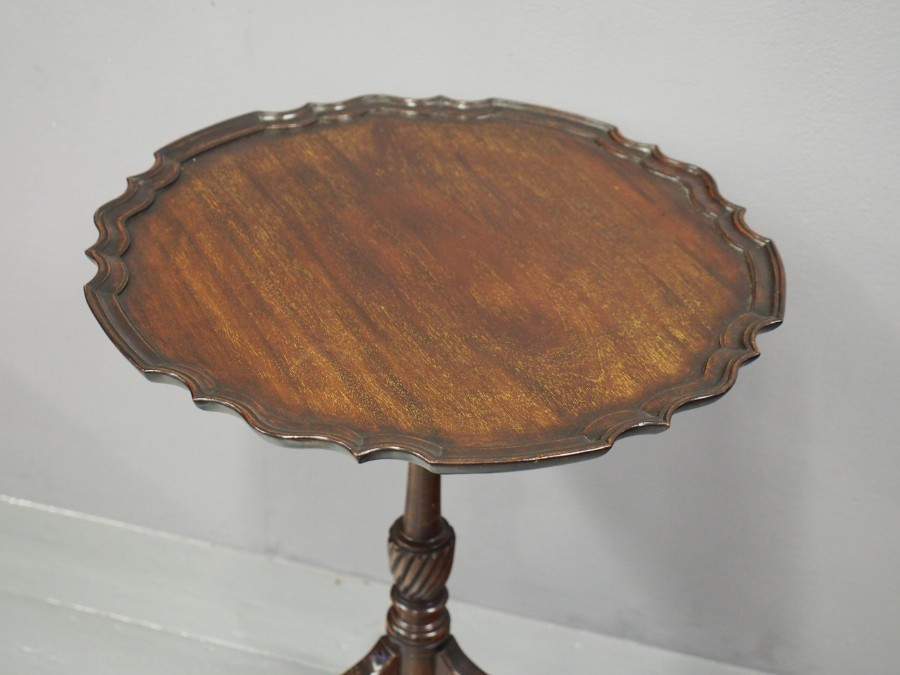 Antique George III Style Mahogany Snap Top Table