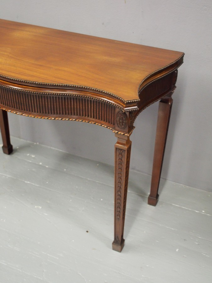 Antique Adams Style Mahogany Games TableAdams Style Mahogany Games Table