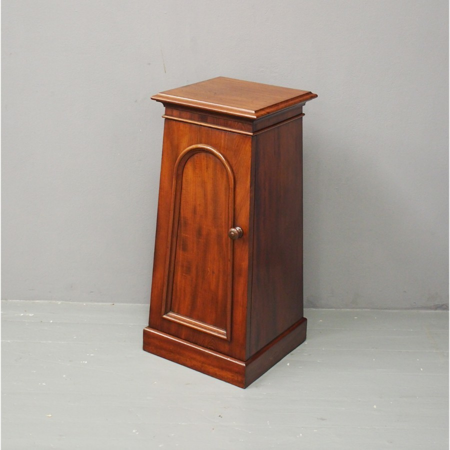 Victorian Mahogany Locker or Pedestal