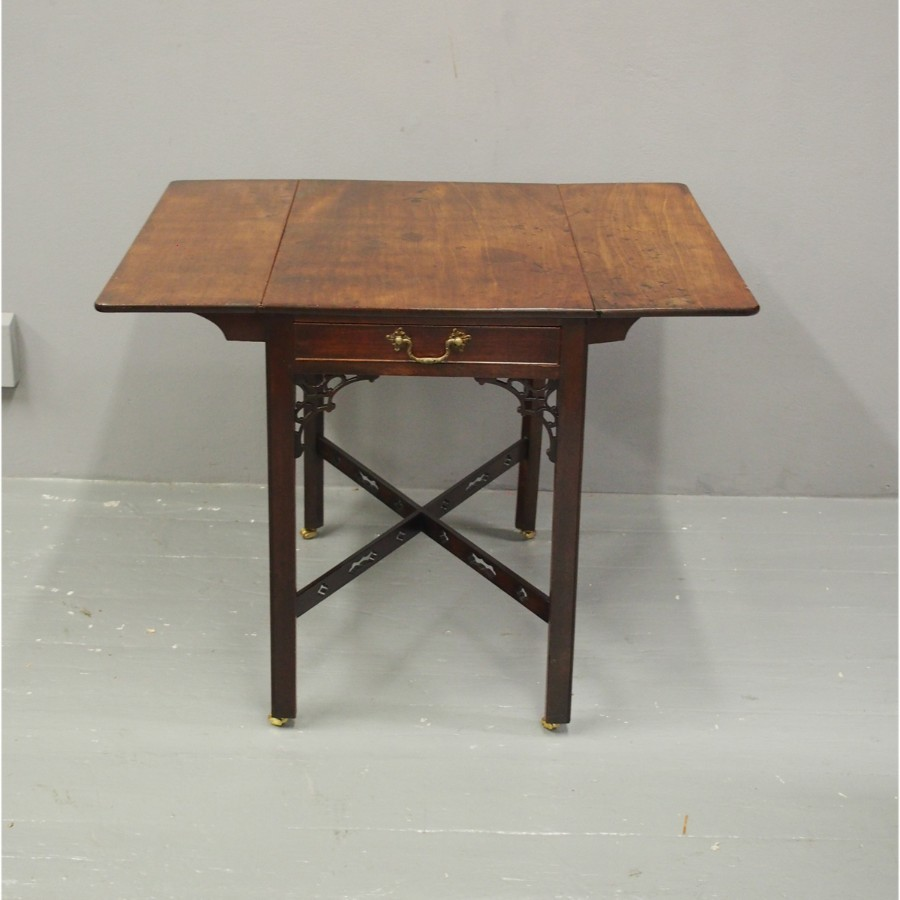 Chippendale Period Mahogany Pembroke Table