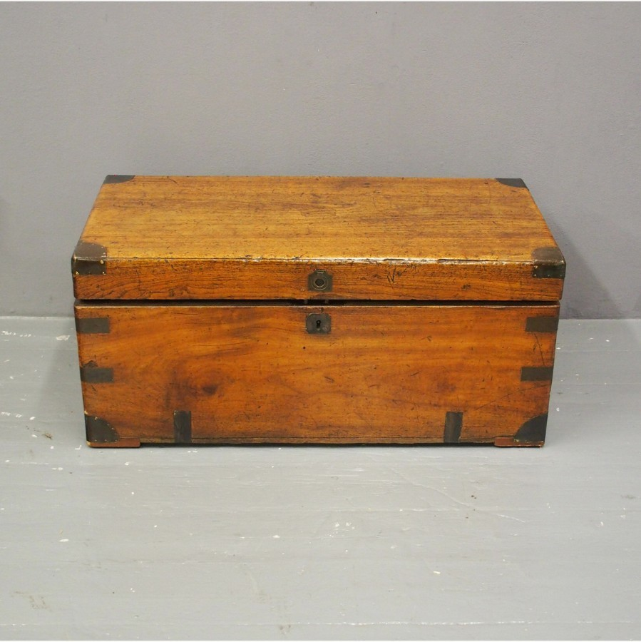 Anglo-Chinese Camphorwood Campaign Trunk
