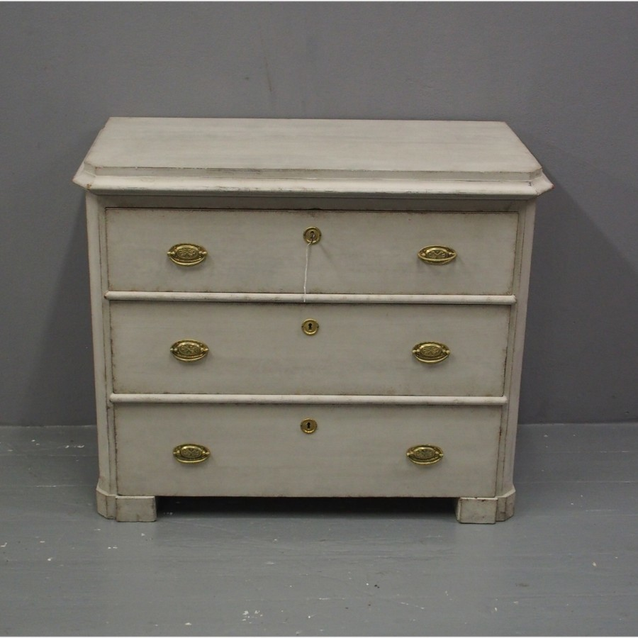 19th Century Swedish Gustavian Style Chest of Drawers