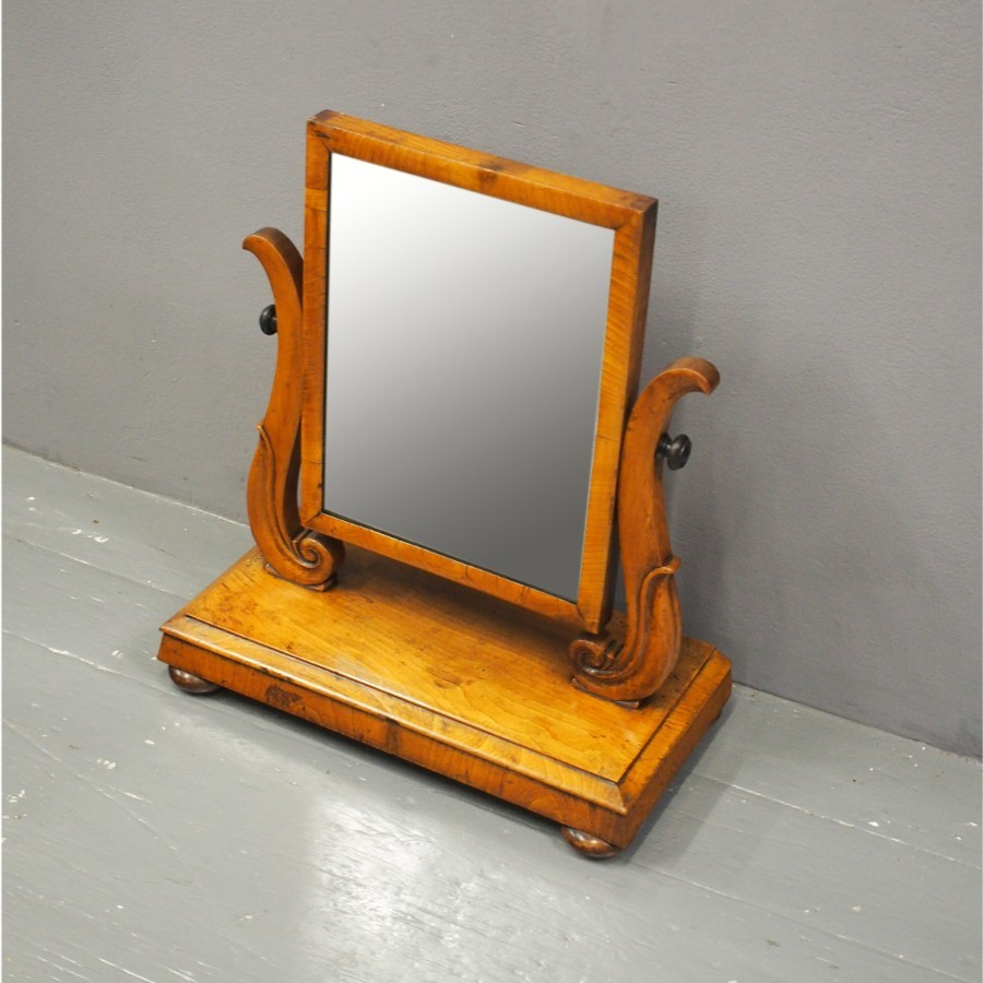William IV Scottish Ash Dressing Mirror