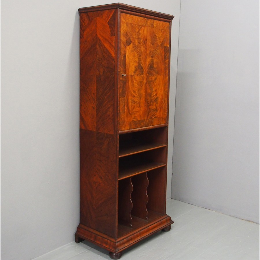 Mahogany Folio Cabinet by Morison and Co