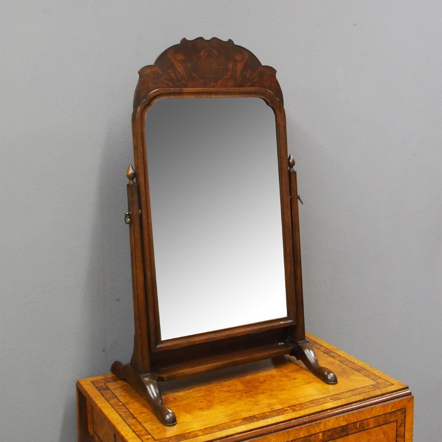 Mahogany Toilet Mirror by Whytock and Reid