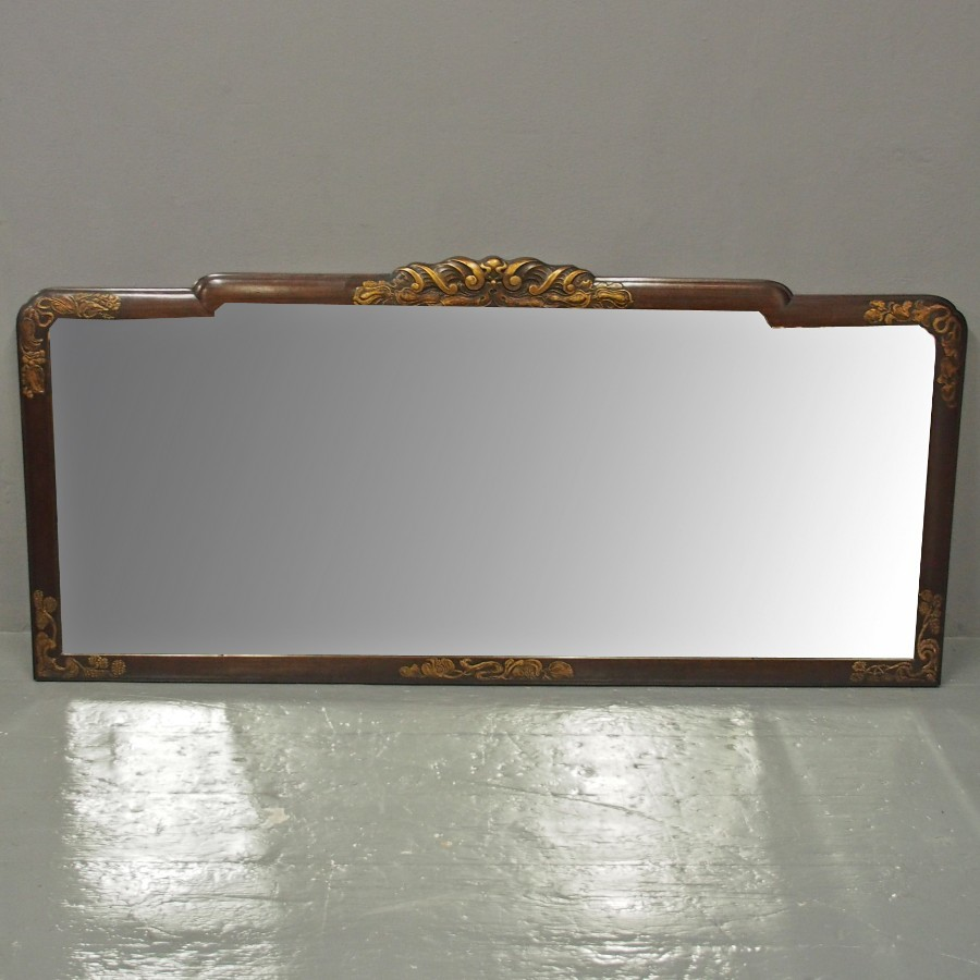 Mahogany Triptych Mirror by Whytock and Reid