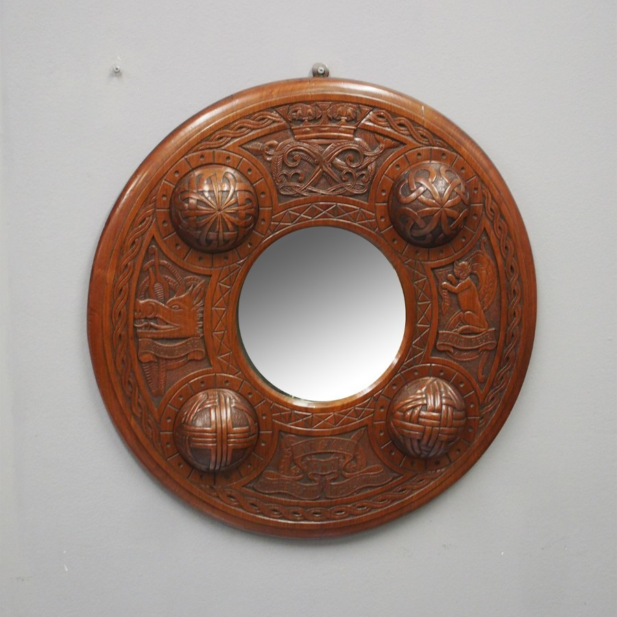 Scottish Targe Wall Mirror