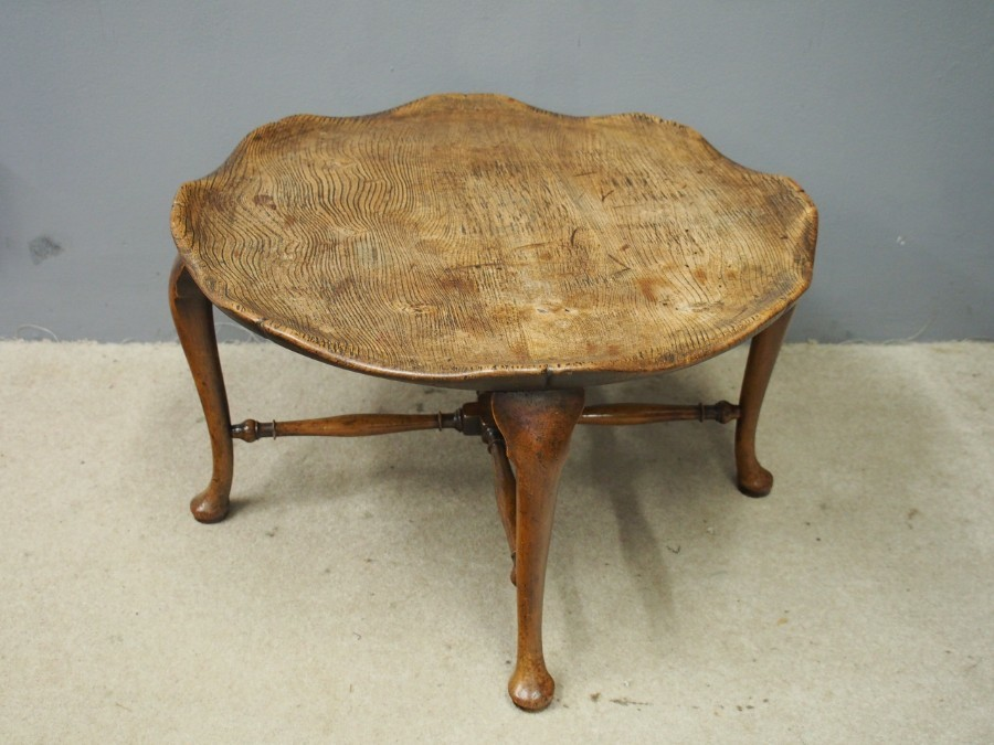 Unusual Elm Coffee Table