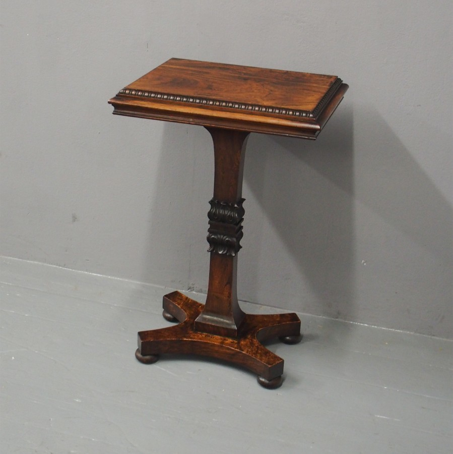 Regency Rosewood Table in the manner of William Trotter