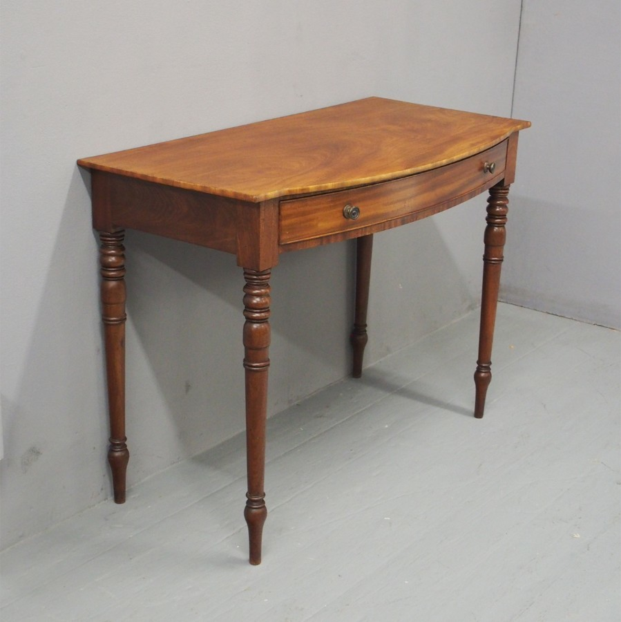 George III Mahogany Side Table