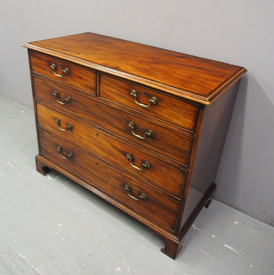 Dumfries House Style George III Mahogany Chest of Drawers