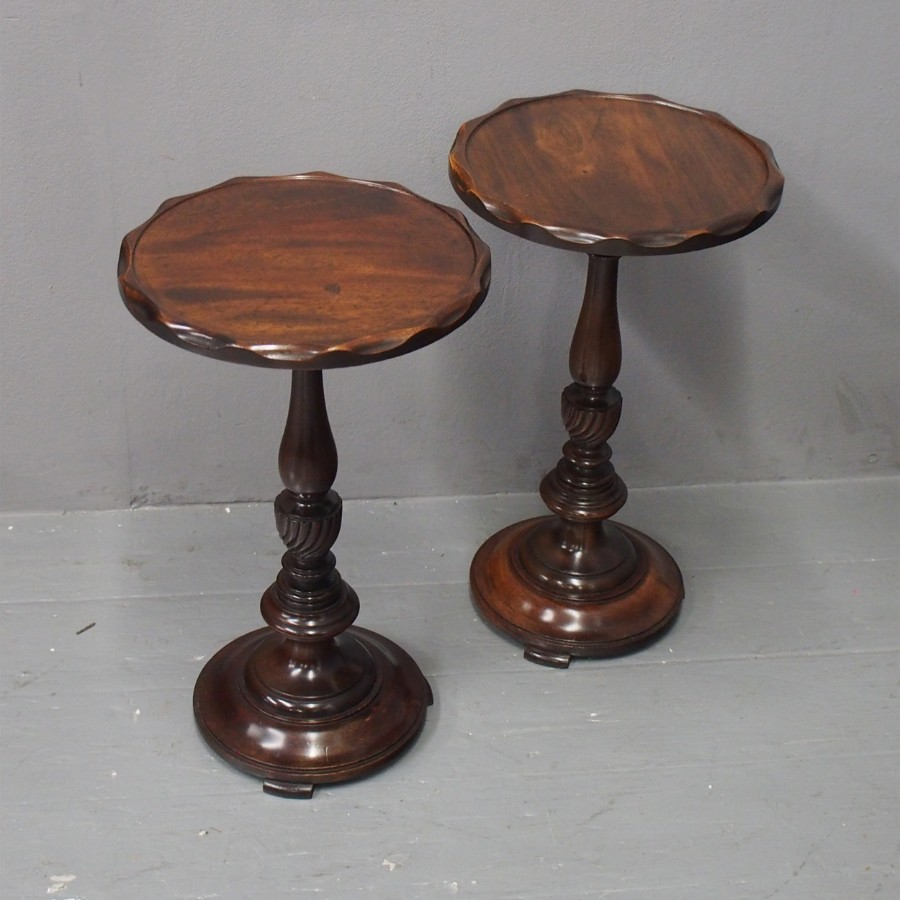 Pair of Circular Occasional Tables