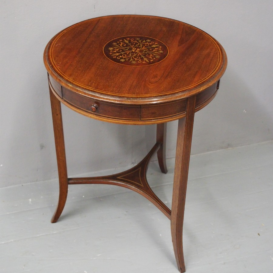 Sheraton Revival Occasional Table