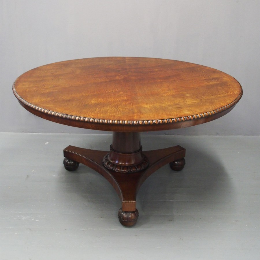Scottish George IV Mahogany Breakfast Table