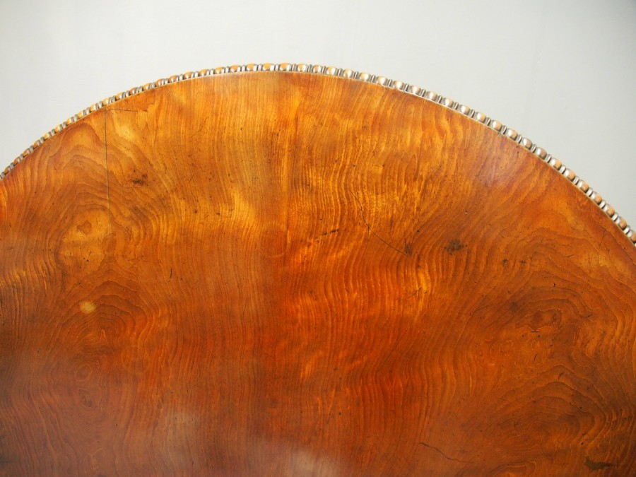 Antique Scottish George IV Mahogany Breakfast Table