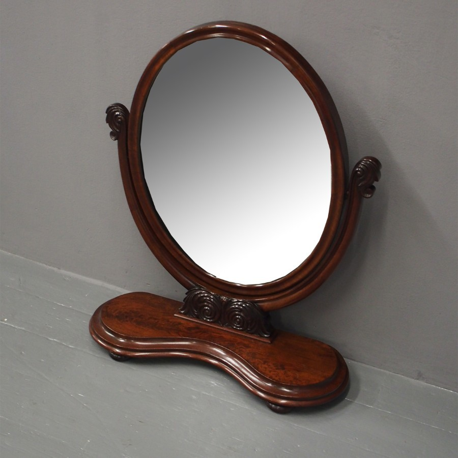 Large Victorian Dressing Mirror