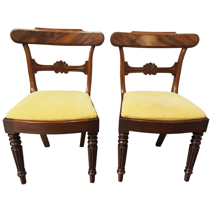 Pair of Mahogany Side Chairs in the Manner of Gillows