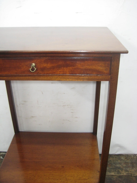 Antique Georgian Spanish Mahogany Occasional Table